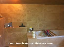 Tile Bathroom Wall by Turkish Travertine Tiles Images