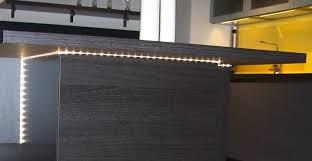 eclairage led cuisine plan de travail clairage plan de travail cuisine led trendy cuisine eclairage led