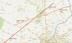 Louisville Zip Code Map by March 2 2012 Comparison Of March 2 2012 Ef4 Track With April 3