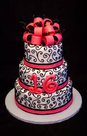 6 8 10 inch round cakes covered in fondant and decorated with