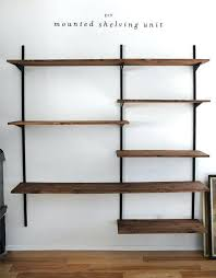 Wall Mounted Bookshelves Ikea - bookcase wall mounted bookcase with glass doors wall mounted