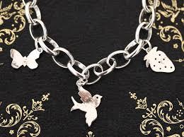 handmade silver charm bracelet images Handmade silver charm bracelet by jemima lumley jewellery jpg
