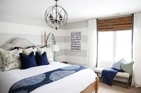 serene blue guest bedroom makeover reveal on virginia