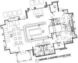Kitchen Cabinet Drawing Simple Restaurant Kitchen Layout Design Lines With
