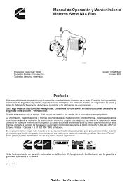 34822585 motor diesel cummins n14