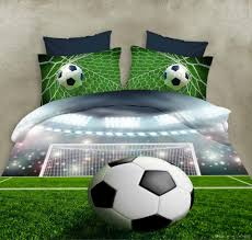 factory new 3d soccer bedding set soccer design printed duvet