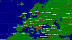 Prague Map Europe by Primap Continental Maps