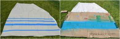 Diy Drop Cloth Curtains Diy Outdoor Curtains Tutorial How To Make Outdoor Curtains From