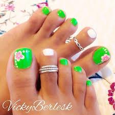 25 best flower toe designs ideas on pinterest pedicure nail