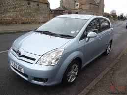 toyota spacio 2004 owners manual 55 toyota corolla verso 1 8 t3 l k 46 000 miles 7 seats superb