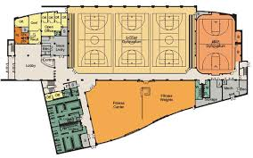Fitness Center Floor Plans Facilities U0026 Equipment