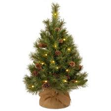 3 pine cone burlap tree 35 leds timer shopko