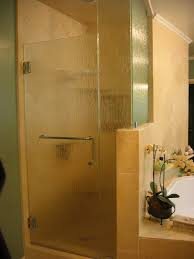 bathroom frosted glass bathtub 5 shower door frameless sliding
