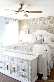 shabby chic master bedroom makeover master bedroom makeover