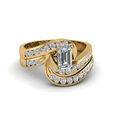 Kmart Wedding Rings by Wedding Rings Trio Wedding Ring Sets Yellow Gold Zales