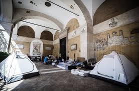 apostoli tende un natale in tenda per sessantasei famiglie nel centro di roma