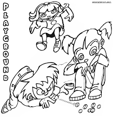playground coloring pages coloring pages to download and print