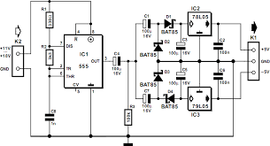555 dc dc converter circuit diagram