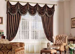 Curtains For Brown Living Room Brown And Blue Curtains Eulanguages Net