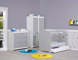 promo chambre bébé meuble chambre bebe promo oslo blanche tiroir de lit et plan
