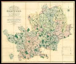 Large Scale Map Bryant U0027s Large Scale Map Of Hertfordshire Maps Daniel Crouch