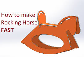 Rocking Horse High Chair How To Make A Rocking Horse Fast Youtube