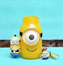 minion centerpieces minion jar gift hometalk
