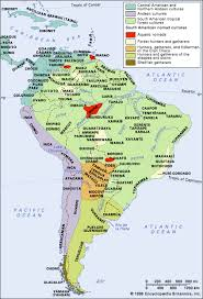 4 american cultures map south american indian britannica