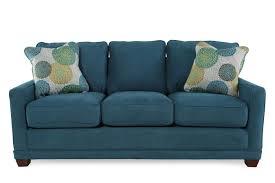 Lay Z Boy Furniture La Z Boy Kennedy Teal Sofa Mathis Brothers Furniture