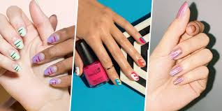 easy nail art will need for this project are 3 color nail uñas