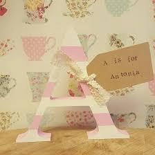 Personalised Baby Nursery Decor Antonia Personalised Baby Letter Nursery Decor Personalised