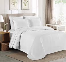 Bedspread Sets King Amazon Com Chezmoi Collection Kingston 3 Piece Oversized