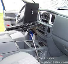 Truck Laptop Desk 2004 2017 Chevy Silverado Gmc Truck Laptop Computer Stand