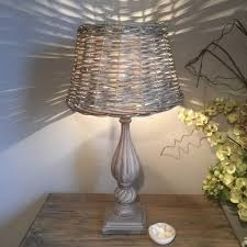 Wicker Table Lamp Table Lamps U2013 Cowshed Interiors