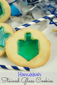 chanukah cookies hanukkah stained glass cookies living sweet moments