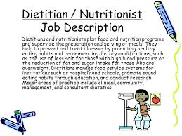 Dietary Aide Job Description Resume by Dietitian Job Description Sample Camp Counselor Job Description