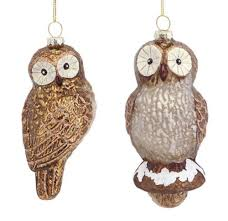 owl ornaments owl christmas tree ornaments whimsical owls for your christmas