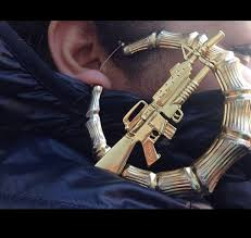 gun earrings jewels machine gun earrings bamboo earring jewelry gold gun