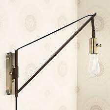 Antique Brass Wall Sconce Hobson Bronze And Antique Brass 17
