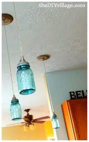Mason Jar Pendant Light Ball Jar Pendant Light Diy Pendant Light The Diy Village
