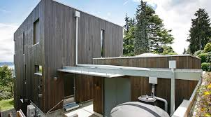 Shed Roof House Ultra Green Madrona Passive House In Seattle Marries Aesthetics
