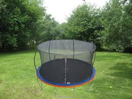 15ft trampoline u0026 patented safety net enclosure combo