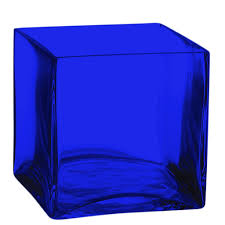 Square Glass Vase The Cobalt Blue Store Cobalt Blue Vases For All Cobalt Blue