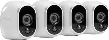 connected home netgear arlo by netgear 4 hd camera set at best buy