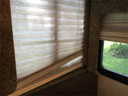 Window Blind String Rv Redesign Kicks Off In Living Area With Paint And Curtains