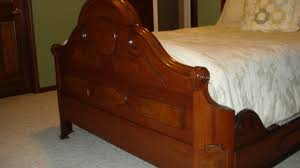 antique late 1800 u0027s victorian walnut bedroom set with marble tops