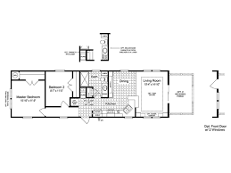 floor plan cottage the sunset cottage ii 16522a manufactured home floor plan or modular