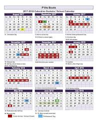 2017 2018 school calendar