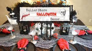 dollar store halloween decor youtube