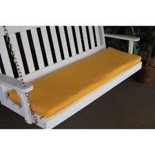 a u0026 l furniture sundown agora 68 x 17 in cushion for bench or